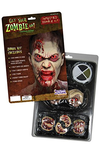 Zombie Eye Kit (Infected Zombie Kit Costume Makeup)