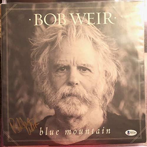 Bob Weir Grateful Dead Blue Mountain LP Signed Limited Clear Vinyl Record Beckett Authentic COA