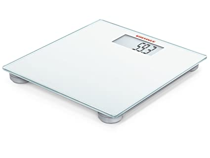 Soehnle 63757 - Báscula de baño digital, diseño sencillo