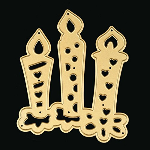 (Metal Die Cutting Dies Stencil for DIY Scrapbooking Album Paper Card Decor Craft by Topunder S)