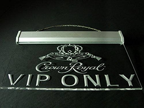 Crown Royal Whiskey VIP Only Led Light Sign