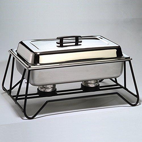 American Metalcraft CFKIT Food Pan, Water Pan, Lid, and Fuel Holders Kit