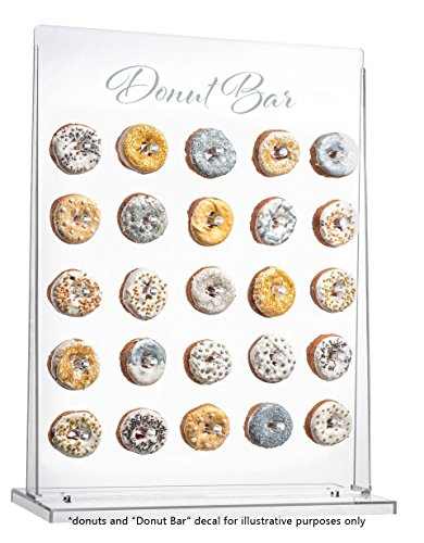 Donut Wall Display - Clear Doughnut Acrylic Stand by EstherO Design (Image #1)