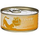Soulistic Harvest Sunrise Chicken & Pumpkin Dinner Adult Canned Cat Food in Gravy, 5.5 oz., Case of 8