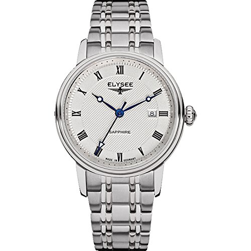 ELYSEE Women's 77008 Ladies-Edition Analog Display Quartz Silver Watch