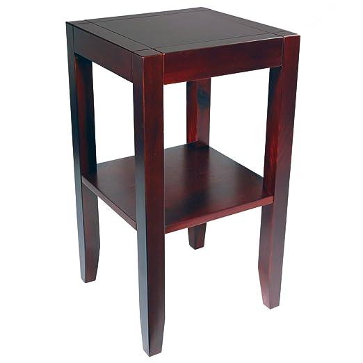 ANYWHERE - mesa auxiliar - color wengue: Amazon.es: Hogar