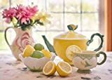 Toys : Trending Puzzles Jigsaw Puzzle 1000 Piece Jigsaw Puzzles for Adults Tea with Lemon Great for family game night, puzzle adult night, memory enhancement. Conversation encouraged during assembly!