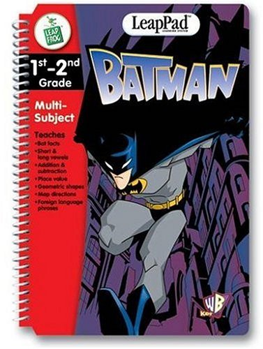 - LeapFrog LeapPad Educational Book: Batman. BOOK and CARTRIDGE that are only for the Original Leappad learning system, not compatible with the Leappad Explorer Tablet