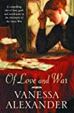 Of Love and War, Vanessa Alexander, 0747271631