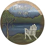 Thirstystone Drink Coaster Set, Life at the Lake