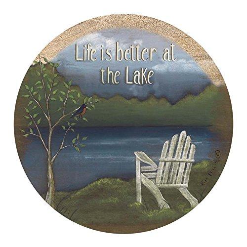 Thirstystone Drink Coaster Set, Life at the Lake