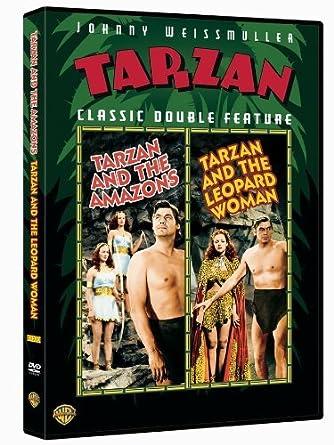 tarzan and the amazons / tarzan and the leopard woman by ...