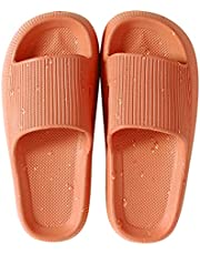 House Slipper For Man And Women PillowSlides Non-SlipLightweight Open-toe Shower Shoes QuickDrying Extra Thick Sandals