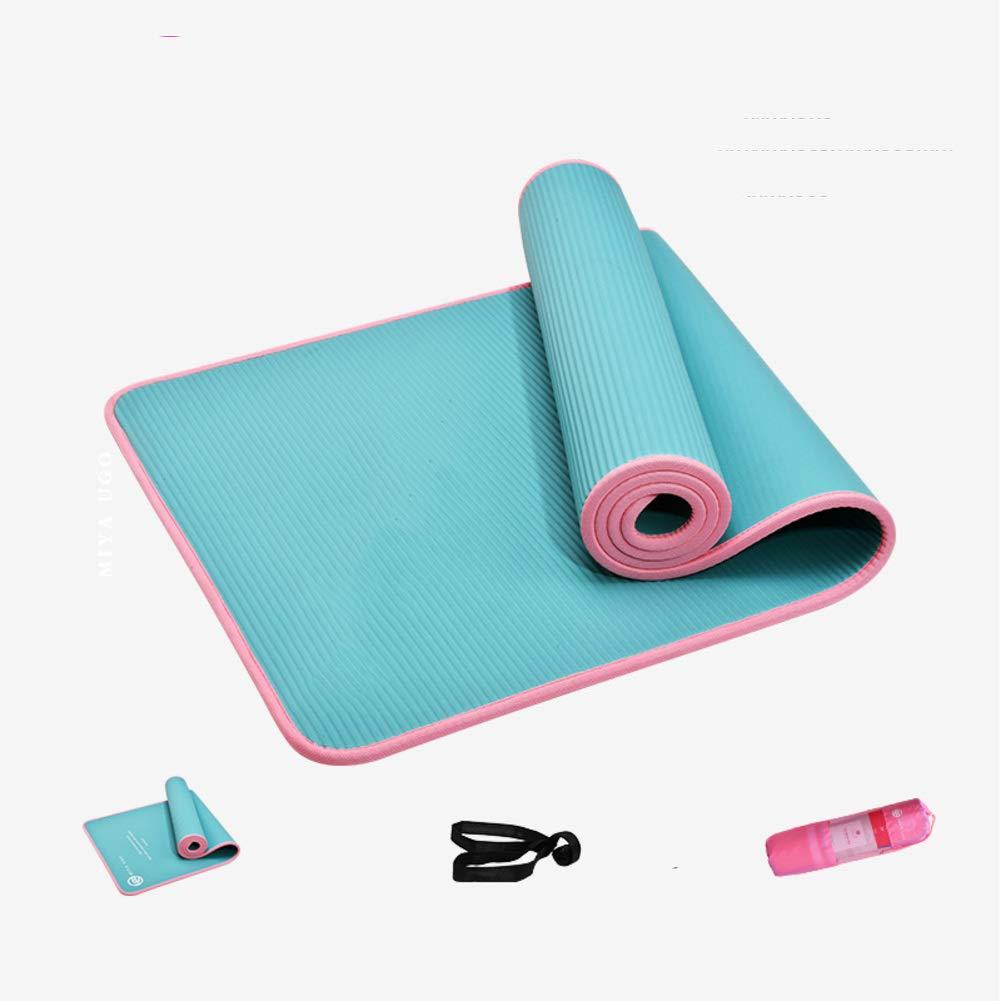 Amazon.com : UKIYES Yoga mat, Pilates mat Beginner Three ...