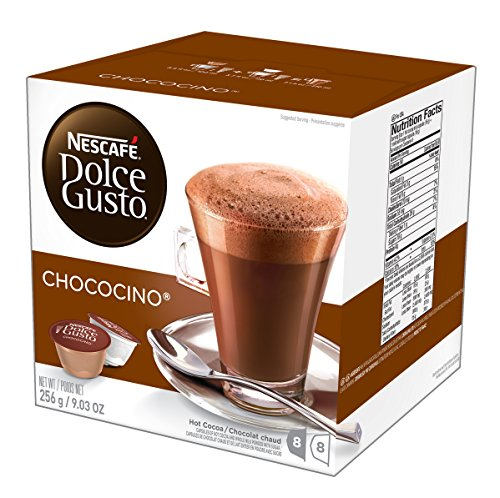 NESCAFÉ Dolce Gusto Coffee Capsules – Chococino – 48 Single Serve Pods, 9.03 oz (Makes 24 Specialty (Chocolate Mocha Cocoa)