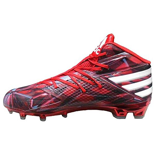 adidas Men's Freak Mid Mantra Football Cleats Power Red/White/Core Black outlet low price 2fNGt