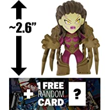 """Kerrigan - Starcraft: ~2.6"""" Heroes of the Storm x Funko Mystery Minis Vinyl Figure + 1 FREE Video Games Themed Trading Card Bundle [44855]"""