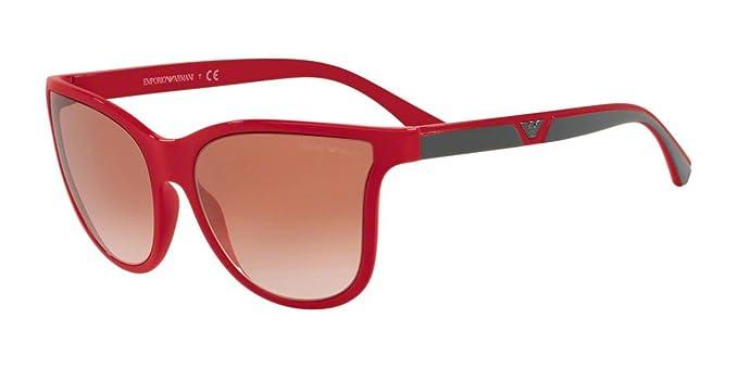 Emporio Armani 0EA4112, Gafas de Sol para Mujer, Raspberry ...