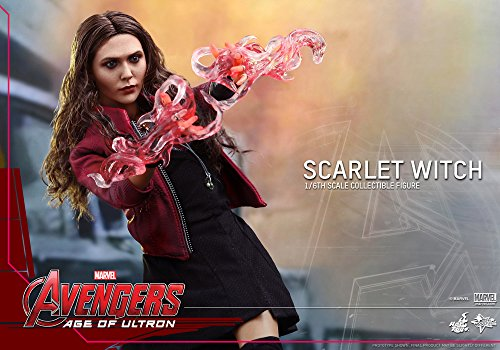 51P6Yel4BjL Hot Toys Marvel Avengers Age of Ultron Scarlet Witch 1/6 Scale Figure