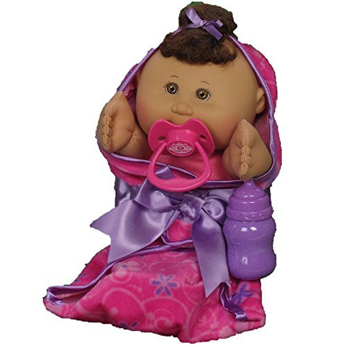 - Cabbage Patch Kids Newborn Baby Doll (African American/Brown Eyes)