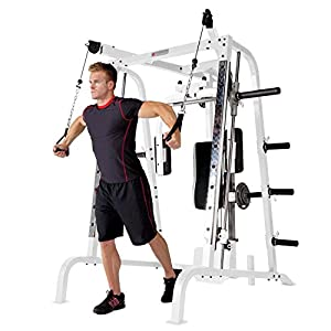 Marcy Diamond Smith Cage Workout Machine Total Body Training Home Gym System by Marcy Fitness