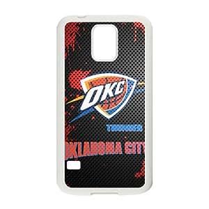 DAZHAHUI Oklahoma City Thunder Cell Phone Case for Samsung Galaxy S5