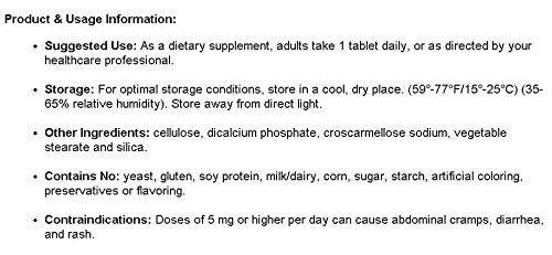 Amazon.com: methyl ácido fólico l-5-mthf por prohealth ...