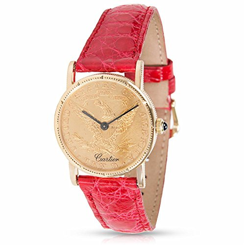 Cartier $10 Gold Coin mechanical-hand-wind womens Watch $10 Coin (Certified Pre-owned)