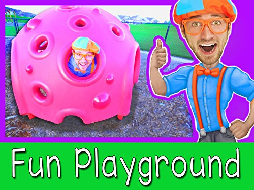 (Educational Videos for Toddlers with Blippi - Outdoor Park )