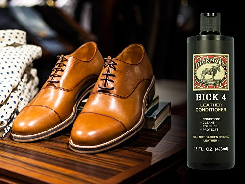 Bickmore Bick 4 Leather Cleaner & Conditioner - Best Since 1882 - Restore Polish & Protect All Smooth Finished Leathers