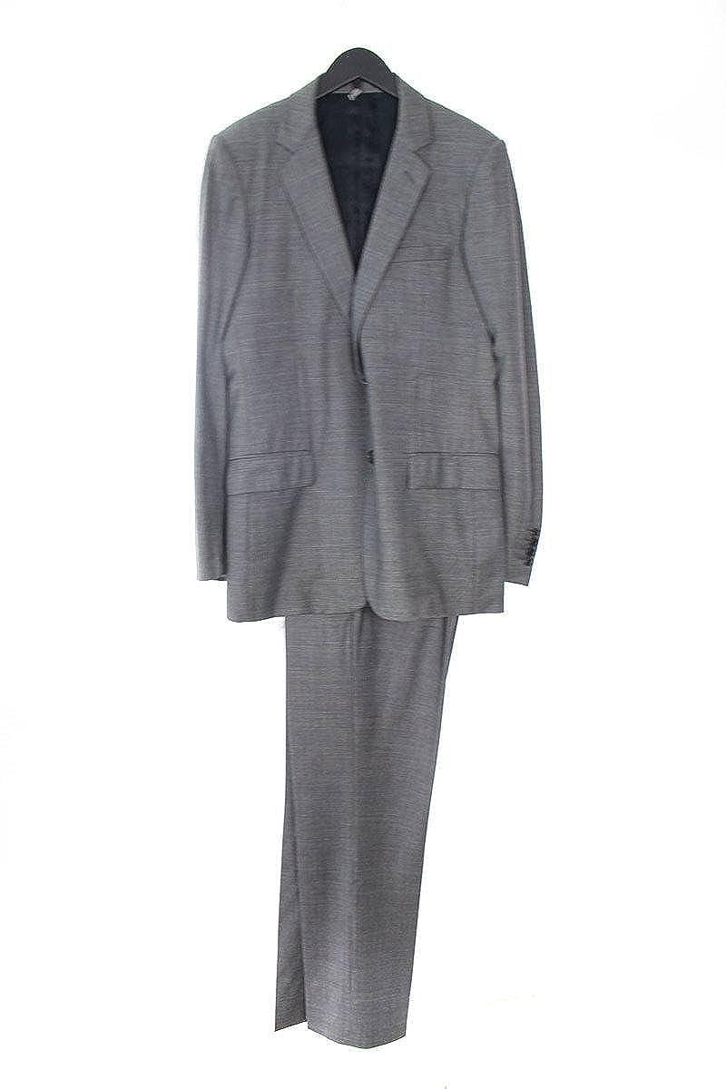 (ディオールオム) Dior HOMME 【08AW】【8H3170120819】グレンチェック2Bジャケットスーツ(46/グレー) 中古 B07FTDGHZC
