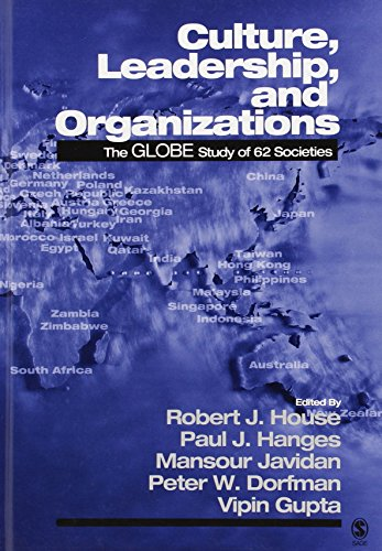 Culture, Leadership, and Organizations: The GLOBE Study of 6