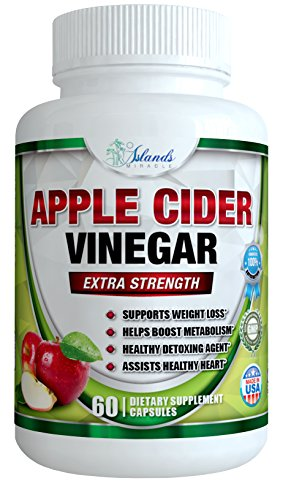 Cheap Pure Apple Cider Vinegar Capsules – 1300mg Best ACV Pills Support Digestion, Detox, Cleanser – Supplements Heart Health and Blood Sugar Metabolism