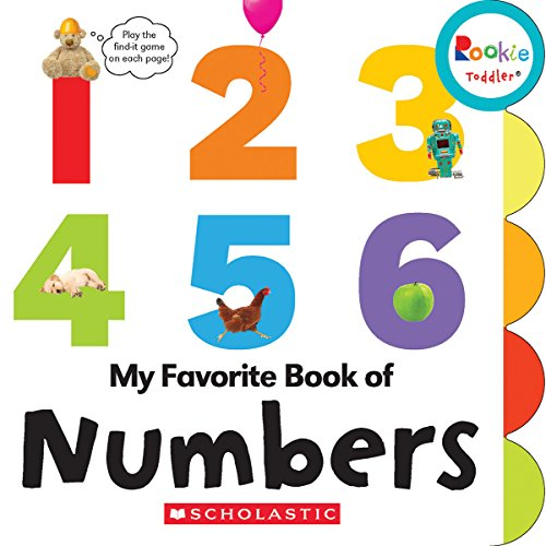 My Favorite Book of Numbers (Rookie Toddler) -