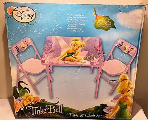 (Tinkerbell 3 Pc Table Chairs Set)