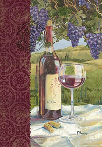 Toland Home Garden Vino 12.5 x 18 Inch Decorative Grape Vine