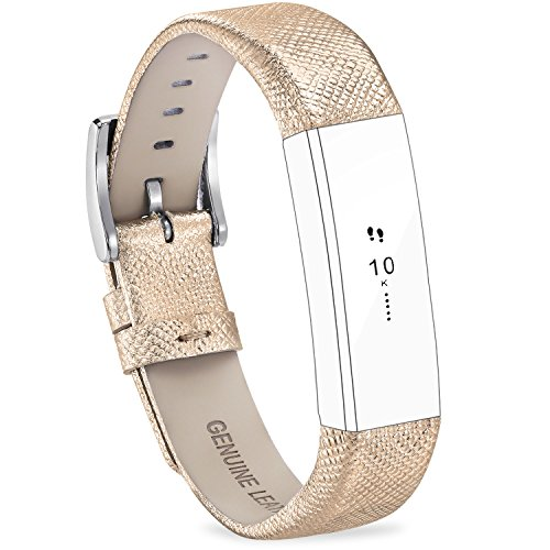 FITEEN Leather Bands Fitbit Strap