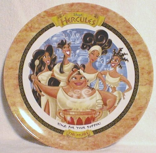 1997 Collectors Plate (The Muses - Hercules - McDonald's 1997 Disney Collector Plate)