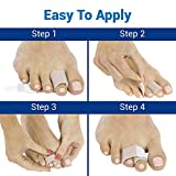 ViveSole Broken Toe Wrap (4 Pack) - Hammer Toe