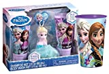 Disney Frozen Elsa Inspired Winter Berry Scented Bath Gift Set! Plus Bonus Bath Time Body Wash Rinse Cup!