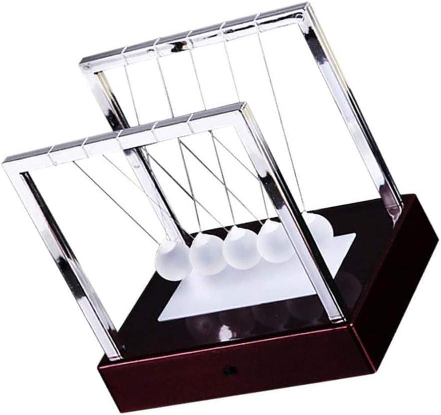 Morza Berceau Balance Ball Pendulum Mouvement perp/étuel Instrument Glowing Bureau Jouet Accueil Physique Ornement