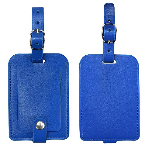 Luggage Tags, Galopar PU Leather...