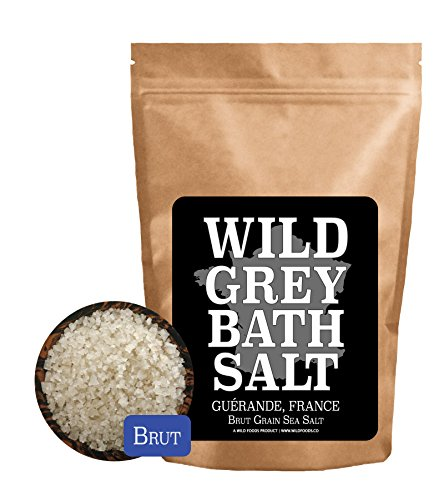 Price comparison product image Wild Celtic Salt,  Organically Hand-Harvested,  Kosher Certified Salt from France (French Bath Salt,  16 ounce)