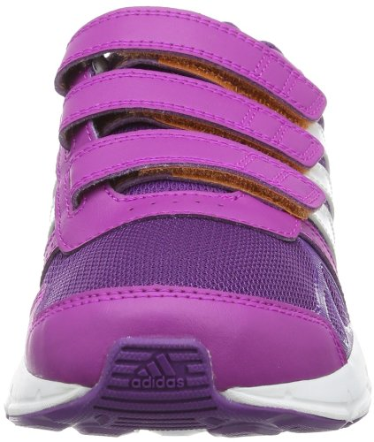 Adidas CF hiperenlace casi JR SCRATCH Lila D66060 SIZE 31 1/2