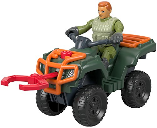 Fisher-Price Imaginext Jurassic World, ATV & Technician
