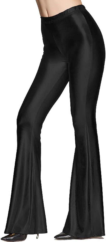 Amazon.com: BoMBAX - Leggings de piel para mujer, diseño de ...