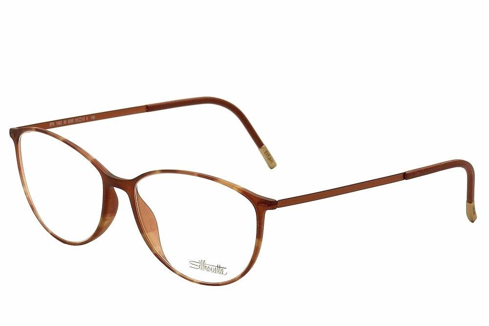 Amazon.com: Silhouette Eyeglasses Urban Lite 1562 6060 Marsala ...