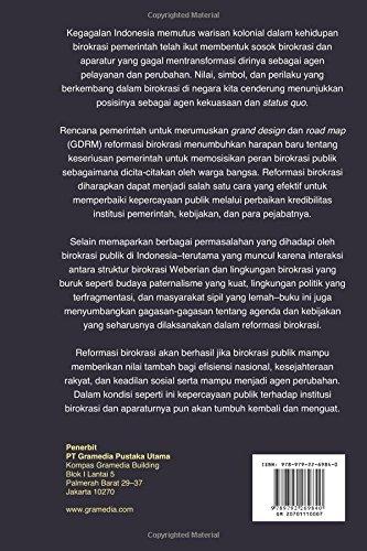 Mengembalikan Kepercayaan Publik Melalui Reformasi Birokrasi (Indonesian Edition) Agus Dwiyanto 9789792269840 Amazon.com Books  sc 1 st  Amazon.com & Mengembalikan Kepercayaan Publik Melalui Reformasi Birokrasi ...