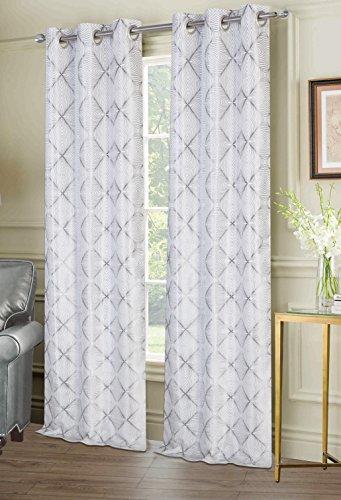 dainty-home-melb7684si-ellen-tracy-window-panel-pair-melbourne-grommet-set-of-2-76x84-silver