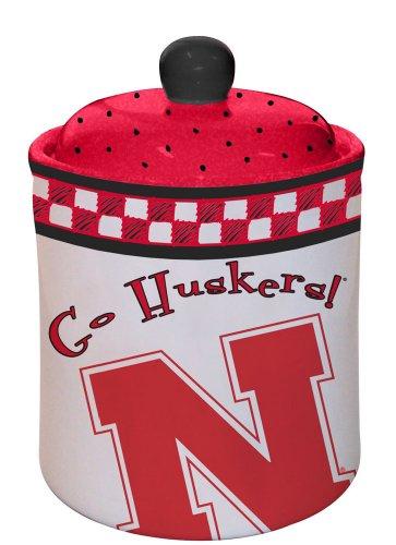 Nebraska Gameday Cookie Jar